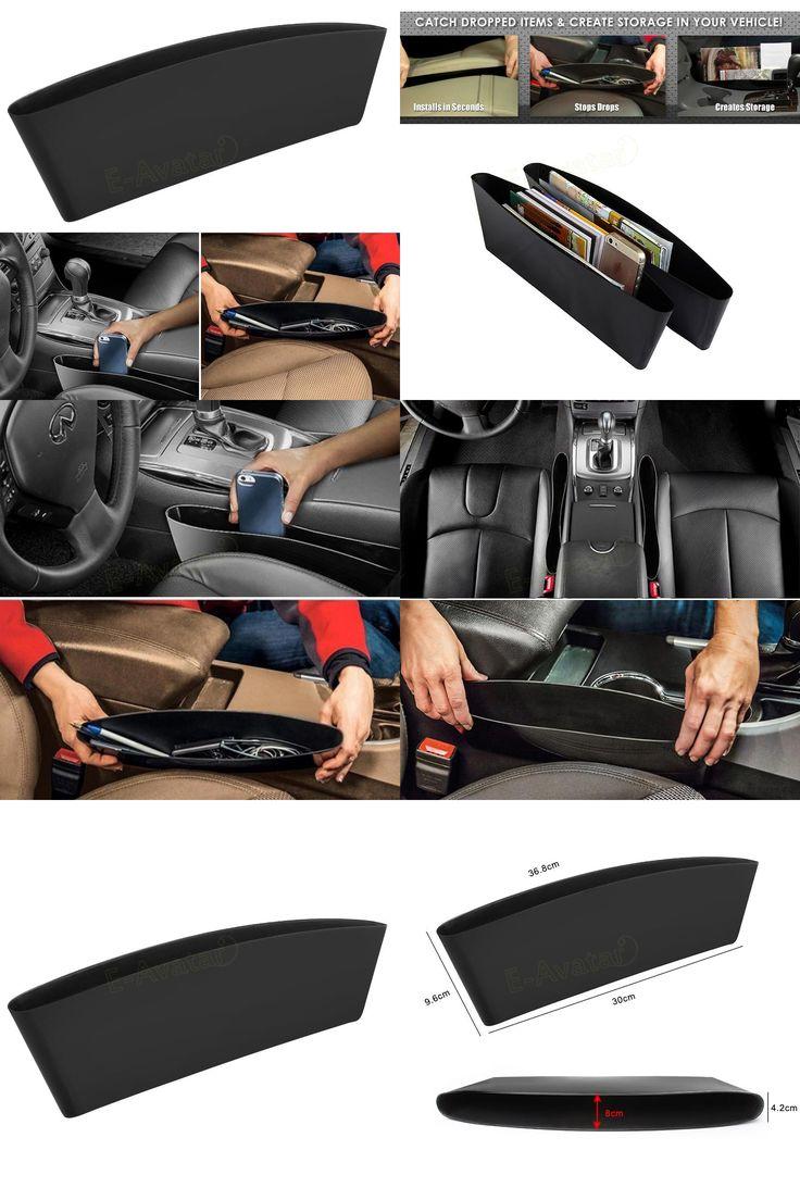 [Visit to Buy] 1PCS Auto Car Seat Gap Pocket Catcher Organizer Leak-Proof Storage Box New organizador de asiento trasero EA10572 #Advertisement