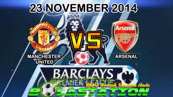Prediksi Bola Arsenal vs Manchester United 23 November 2014