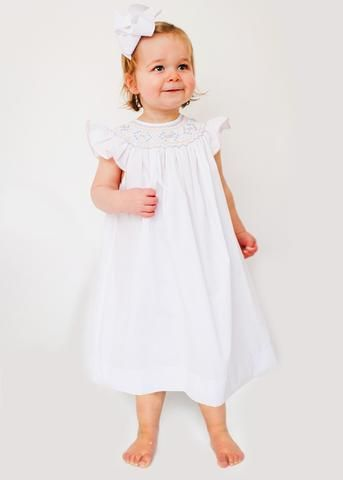 Share with your friends for 10% Off! Hand Smocked Dresses for Girls - Easter Dresses for Girls #TT4K