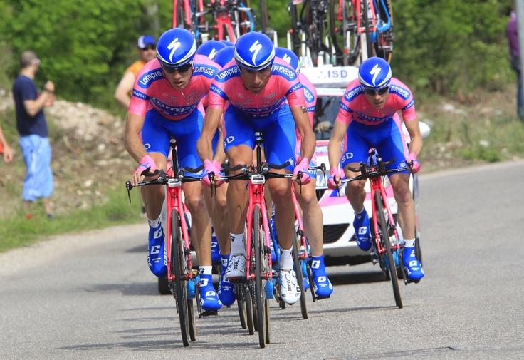 The TTT - stage 4 - Giro d' Italia 2012  © bettiniphoto