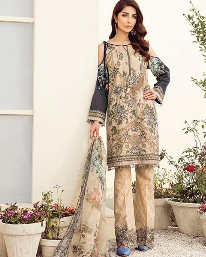 383f5b0175 BAROQUE LAWN COLLECTION (Replica)(Unstitched) | Pakistani Dresses ...