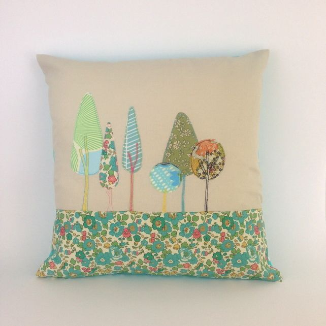 Enchanted Wood Cushion 40cm square