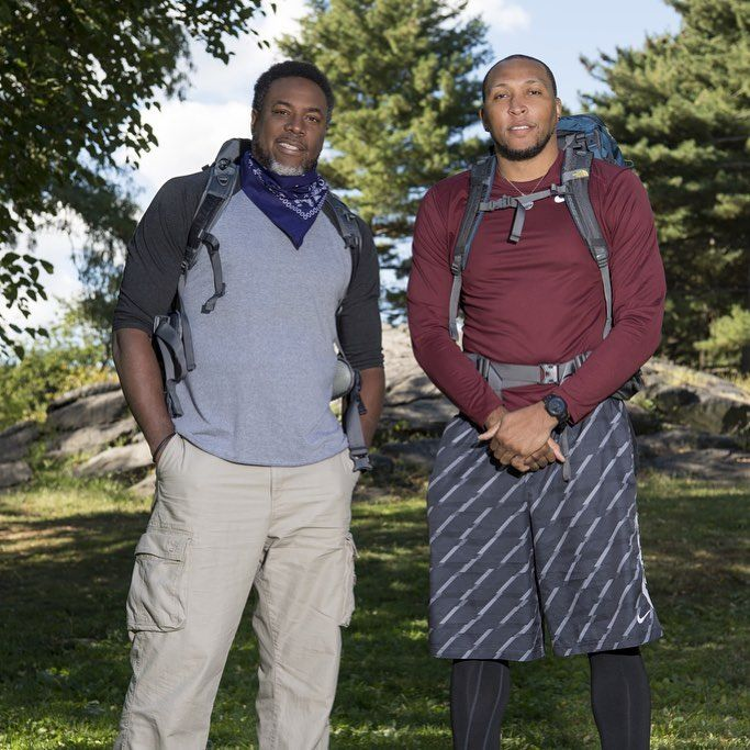 """'The Amazing Race's """"Retired NBA Players"""" Cedric Ceballos and Shawn Marion survive non-elimination leg   The Amazing Race team Cedric Ceballos and Shawn Marion survived a non-elimination leg during the third episode of the CBS reality competition's 30th season on Wednesday night. #TheAmazingRace #AmazingRace #TAR"""