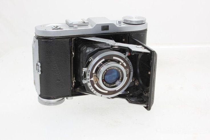 VINTAGE BALDA BUNDE BALDINETTE 35 mm FOLDING CAMERA CIRCA. 1950 Schneider Lens #BALDA