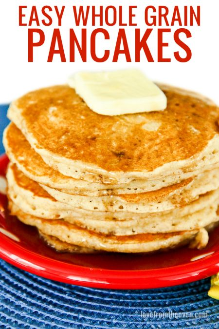 Whole Grain Pancakes Recipe — Dishmaps