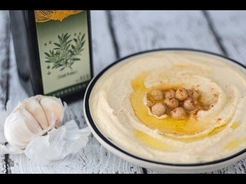 Lækker og cremet hummus - nem at lave og smager fantastisk!