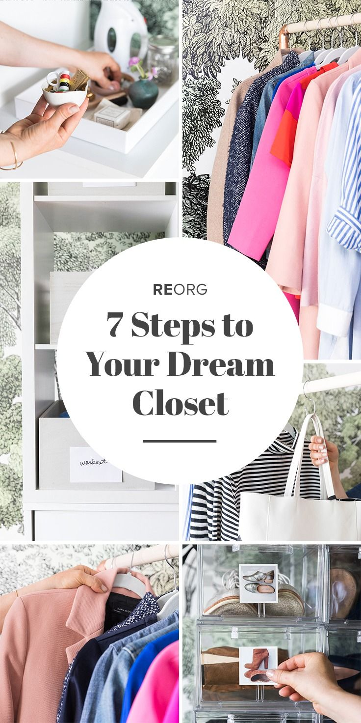 Get ready for 7 game-changing closet organization ideas that will result in the most organized, least stressful closet you've ever had. Seriously. HOW? Fashion resale site thredUP and HGTV home stylist and organizing guru Emily Henderson are here to help! Spring cleaning #goals, tackled.