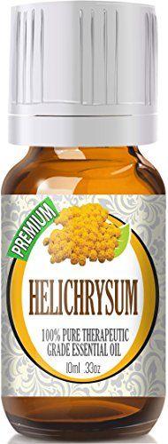 Helichrysum - 100% Pure, Best Therapeutic Grade Essential Oil - 10ml