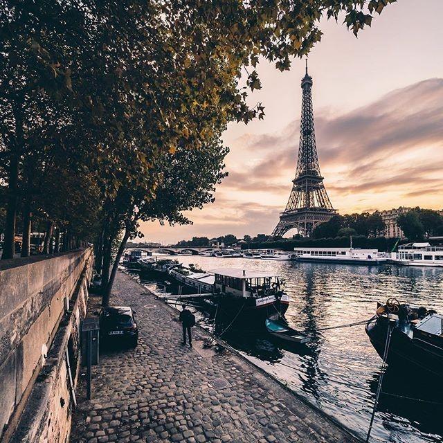 Love Parisian summer nights