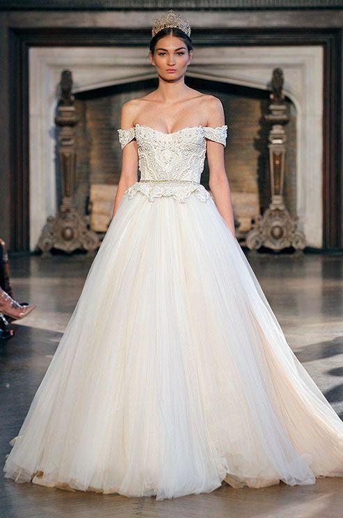 Ball Gown Wedding Dresses : Inbal Dror 2015