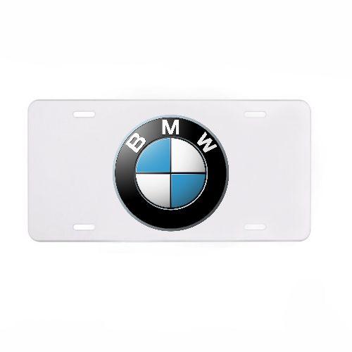 BMW Novelty Car License Plate