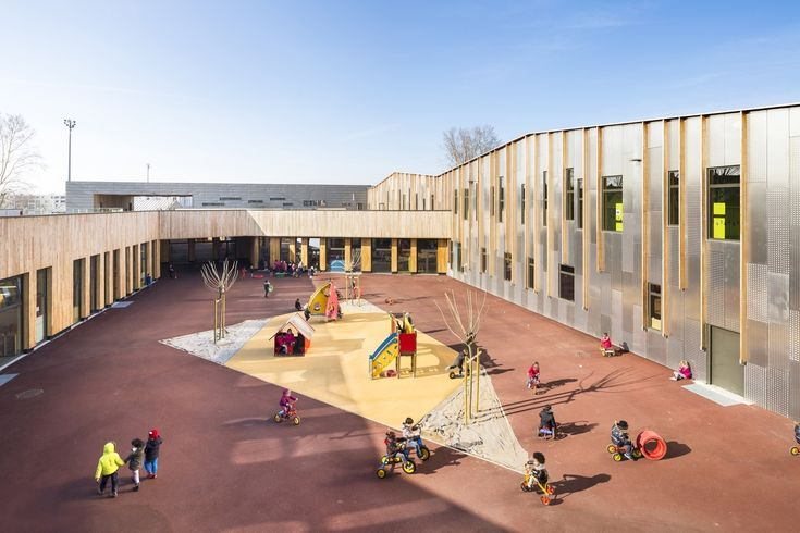 Gallery of Bezons Angela Davis School / archi5 + Tecnova Architecture - 4