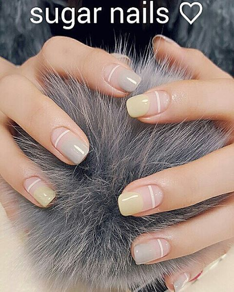 372 best paint your nails images on pinterest nail design nail negative space nail art design idea to try prinsesfo Gallery