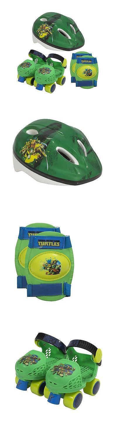 Youth 71156: Playwheels Teenage Mutant Ninja Turtles Kids Roller Skates With Knee Pads... New -> BUY IT NOW ONLY: $37.47 on eBay!
