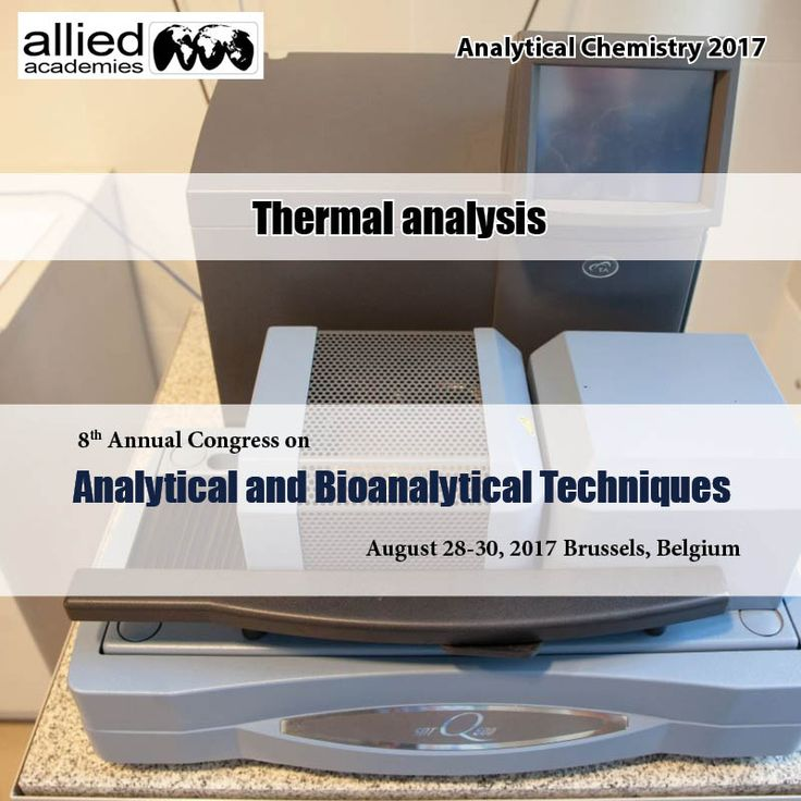 Thermal analysis  #Thermal Analysis generally refers to the simultaneous application of #Thermogravimetric and differential scanning calorimetry to one and the same sample in a single instrument. Dielectric Thermal Analysis or material Analysis may be a materials science technique the same as dynamic mechanical Analysis except that an #oscillatory electrical field is employed rather than a mechanical force. Differential thermal analysis may be a #thermoanalytic technique. Similar as…