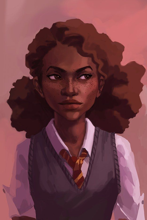 "What A ""Racebent"" Hermione Granger Really Represents :: The beauty of the Harry Potter character as a woman of color."