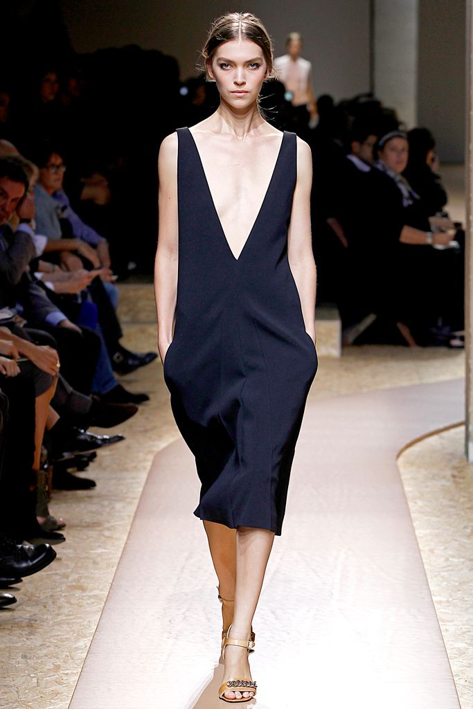 Good Service Get Authentic Online Blend Silk Dress Spring/summer Celine cBl0C