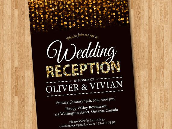 Wedding Reception Invite: 301 Moved Permanently