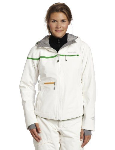 Columbia Women's Roffe Ski Jacket, Sea Salt, X-Large ** Be sure to check out this awesome product.