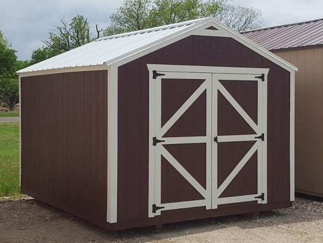 Economy Utility, Nice Backyard Storage Shed.