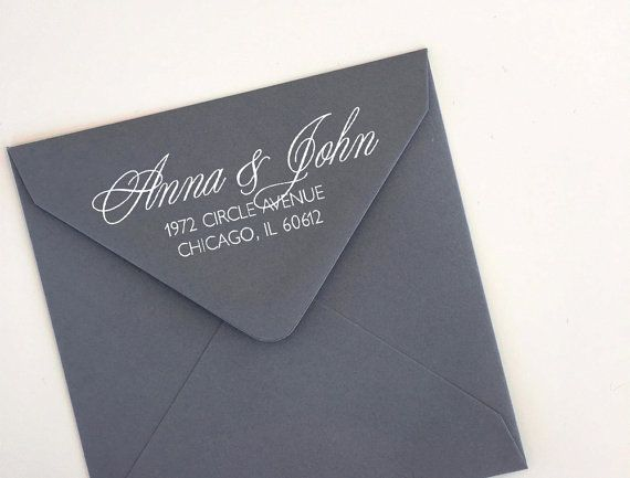 Custom return address stamp for your envelopes addressing  . . . . . . . . . . . . . . . . . . . . . . . . . . . . . . . . . . . . . . . . . . . . . . . . . . . . . . . . . . . . . . C U S T O M I Z A T I O N  • please choose your stamp size & type from the dropdown menu on the right called Sizes / Prices and add to cart • add all your personalized text in the Notes to Seller box at checkout • make sure to double check your spelling - we copy and paste directly from your notes! • pro...