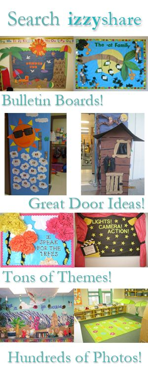 For all my Teacher friends... bulletin boards and doors