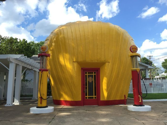 4. Clamshell Shell Station...in Winston-Salem, NC