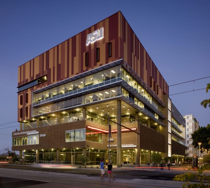 Where I Go To School Arizona State University Walter Cronkite Of Journalism Mass Communication Downtown Phoenix