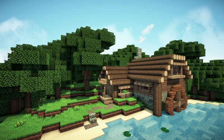 Minecraft River Cottage