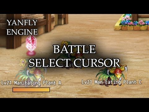 Battle Select Cursor Released: 2016 05 15 This plugin allows you to
