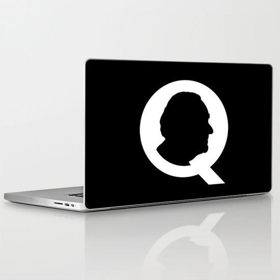 THE QUARTERMASTER Laptop Skin @ http://society6.com/product/the-quartermaster_laptop-skin#2=148