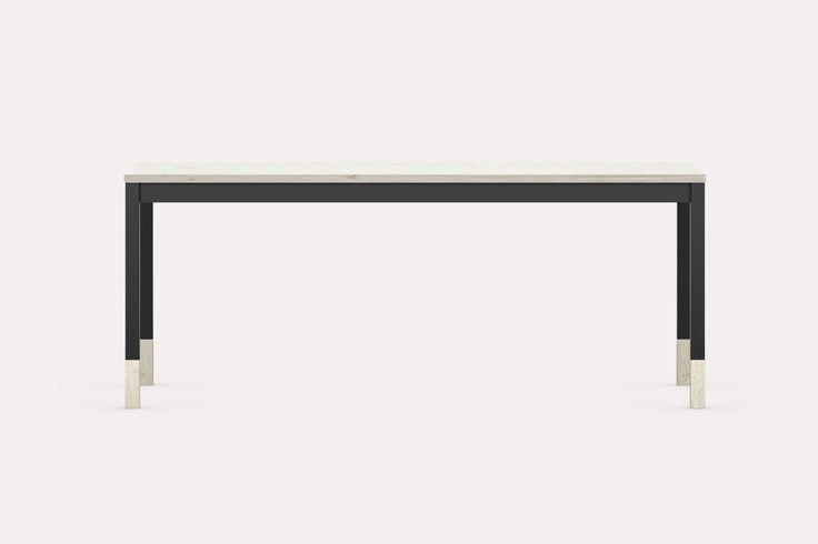 Modern school table | metal and wood