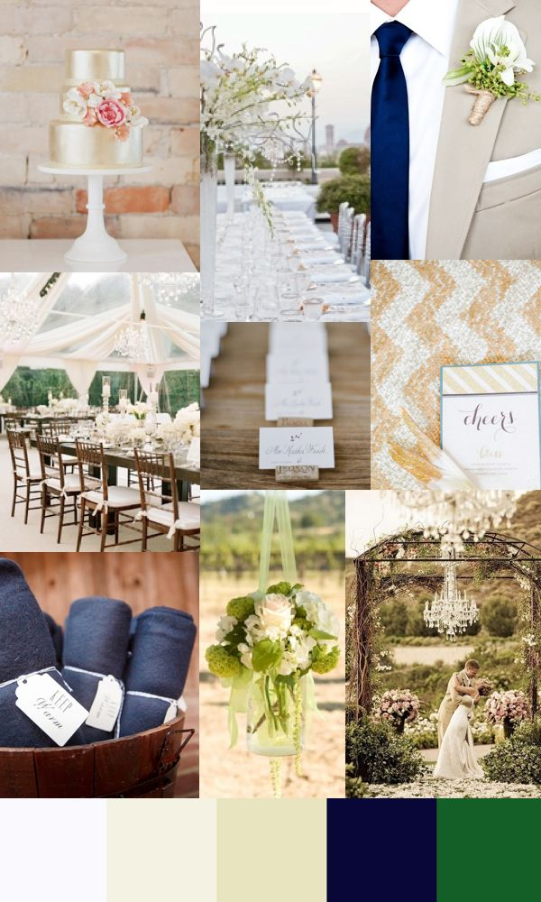 explore navy champagne wedding