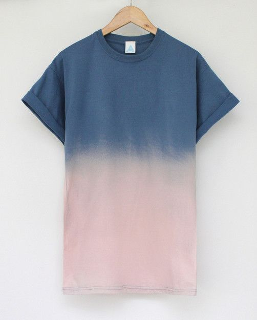 ANDCLOTHING — Sunset Dip Dye Tee (£11.00) - Svpply