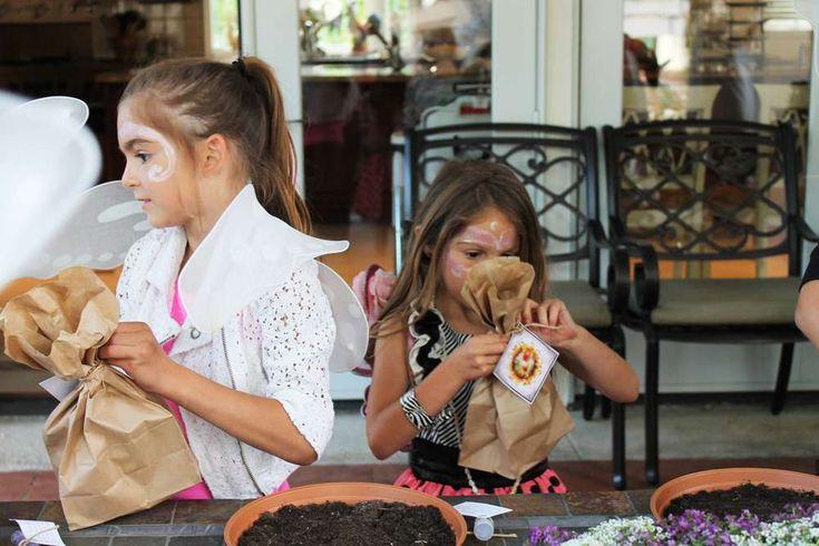 Emelia's Magical Fairy Garden Party | CatchMyParty.com