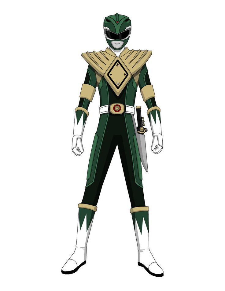 Green Ranger 2011 Concept Art by Jarein on DeviantArt