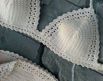 crochet bikini Adele Vintage bikini Hippie by GoodMoodCreations