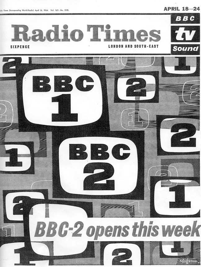 BBC 2 Starts 1964