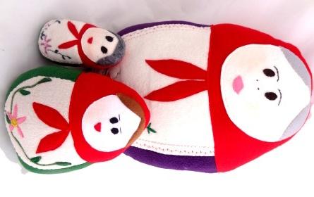 Image for Plushie - Russian Matryoshka Doll Cushion DIY Craft ProjectMatryoshka Russian, Adorable Russian, Dolls Cushions, Russian Dolls, Craftbits Com, Crafts Projects, Craft Projects, Matryoshka Dolls, Russian Matryoshka