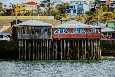 palafitos en chiloe