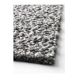 "BASNÄS Rug, flatwoven - 4 ' 7 ""x6 ' 7 "" - IKEA The durable, soil-resistant wool surface makes this rug perfect in your living room or under your dining table."