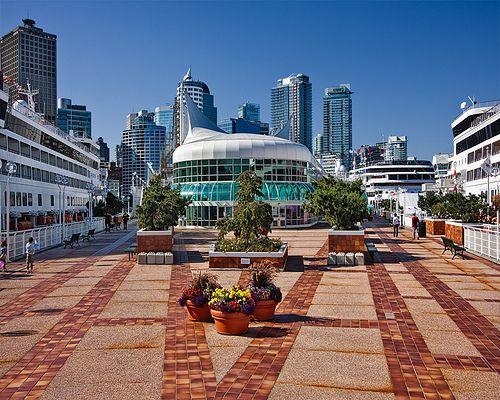 Canada Place, Vancouver, B.C., Canada. #cities #Canada #travel