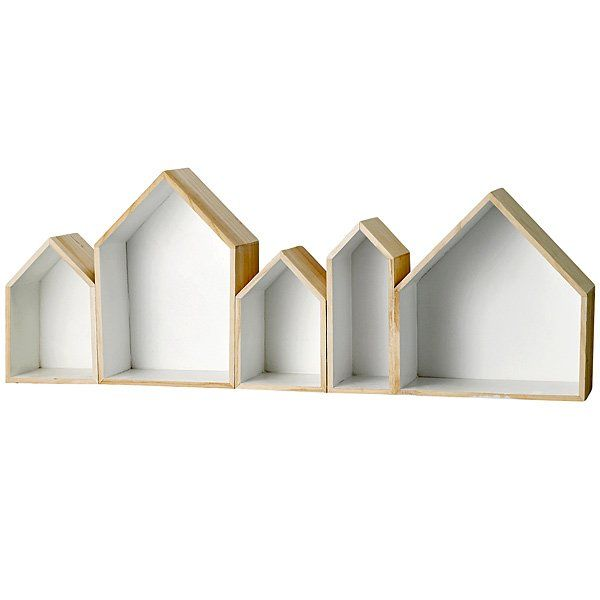 Sættekasse i træ - Huse