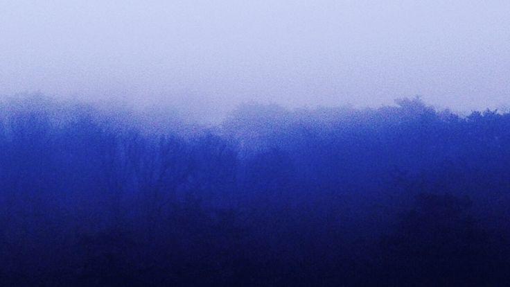 morning fog, Buam-dong, Seoul.