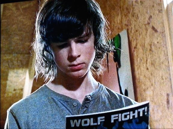 more wolf foreshadowing  - Carl - S5.E12. Remember - Fangirl - The Walking Dead