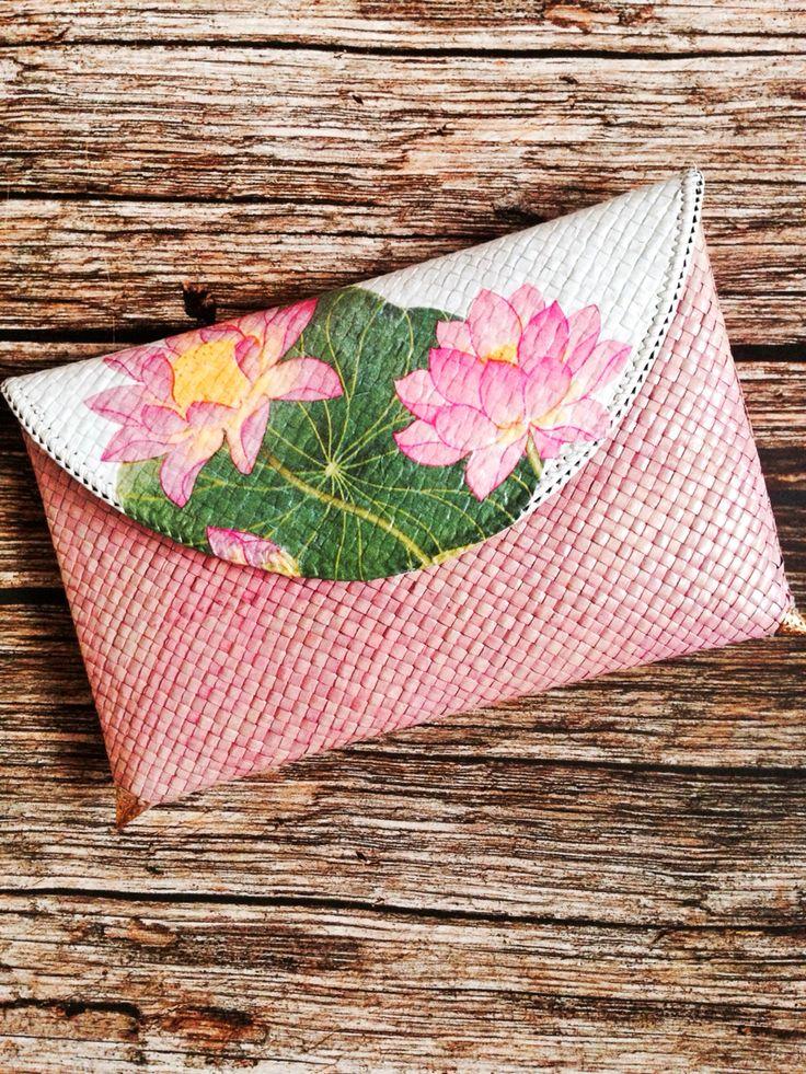 Clutch Pinky Decoupage