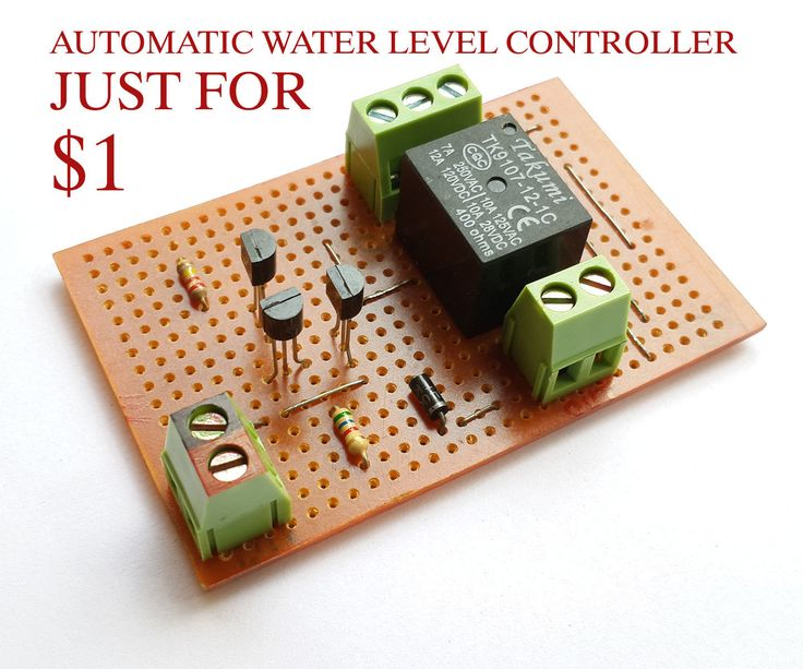 17 best ideas about level sensor arduino transistor 1 automatic water level controller