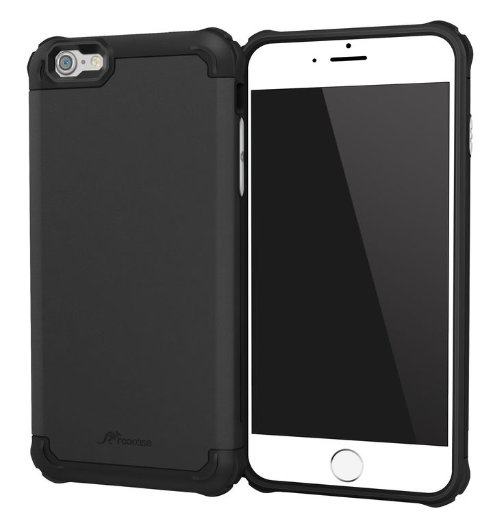 iPhone 6s Plus Case, roocase [Exec Tough PRO] iPhone 6s Plus Slim Fit Case Hybrid PC / TPU [Corner Protection] Armor Cover Case for Apple iPhone 6 Plus / 6s Plus (2015), Granite Black. Mil-Spec Drop Test Certified (MIL-STD-810G/MIL-STD-810F) Precise cutouts for Apple iPhone 6S Plus / iPhone 6 Plus (5.5). Extremely durable Co-molded TPU and Polycarbonate design. Superior stability for drop protection and impact resistance. Dust shields for power button and volume controls. Screen frame…