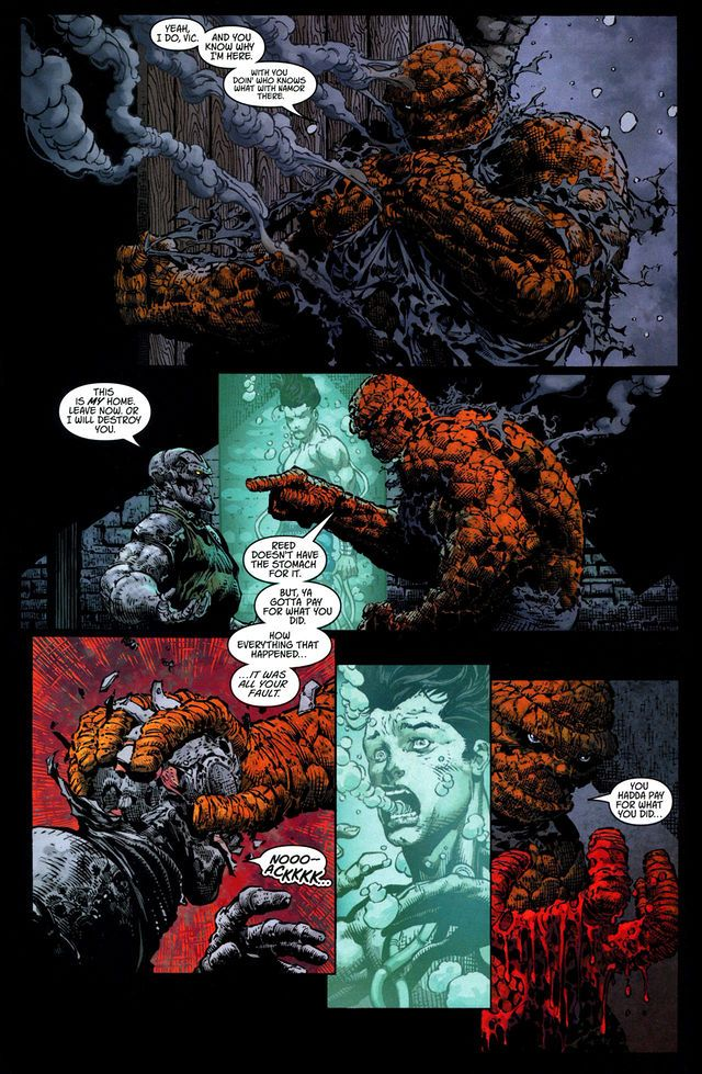 This Ben Grimm does what has to be done.