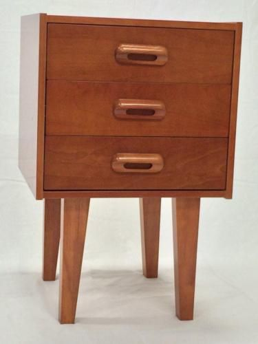 2x-Bedside-Table-Retro-Danish-mid-century-inspired-vintage-Eames-style-ASSEMBLED
